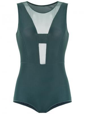 Panelled bodysuit Giuliana Romanno. Цвет: none