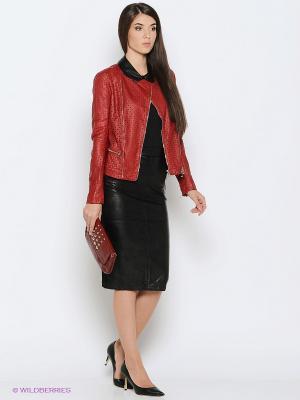 Куртка LUIGI FERRO. Цвет: красный