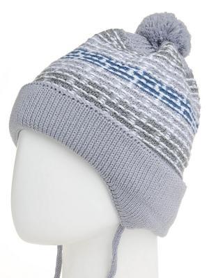 Шапка Maxval. Цвет: светло-серый, серо-голубой, серебристый