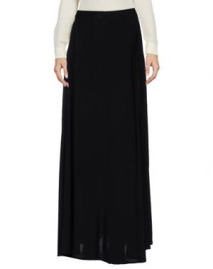 Длинная юбка ENZA COSTA. Цвет: черный
