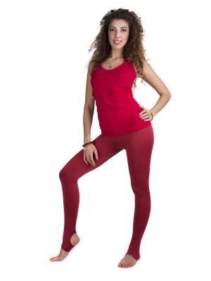 Костюм для йоги SAVASANA. Цвет: темно-красный,малиновый