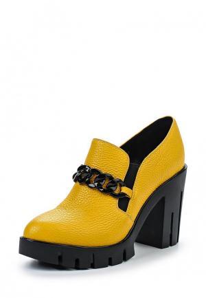Ботильоны Just Couture. Цвет: желтый