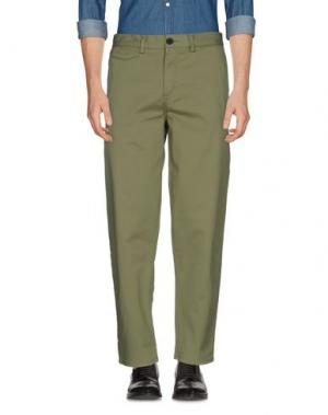 Повседневные брюки ONTOUR. Цвет: зеленый-милитари
