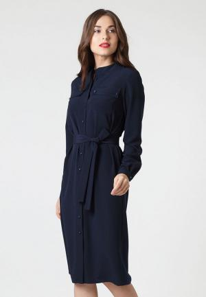 Платье Lova. Цвет: синий