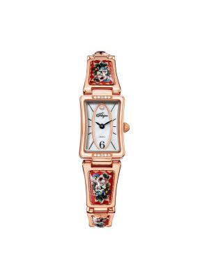 Часы Mikhail Moskvin. Цвет: салатовый, золотистый, красный