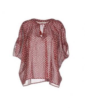 Блузка BELLA JONES. Цвет: пурпурный