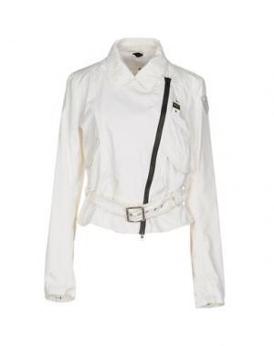 Куртка BLAUER. Цвет: белый