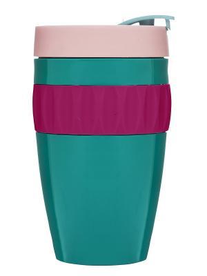 Кружка для напитков на вынос Sagaform. Цвет: зеленый