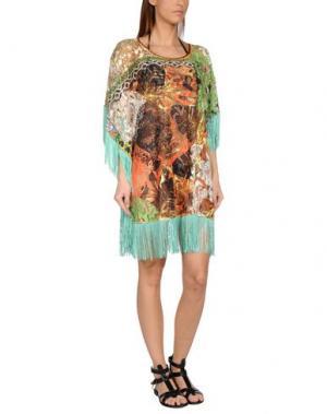 Пляжное платье F**K PROJECT. Цвет: зеленый