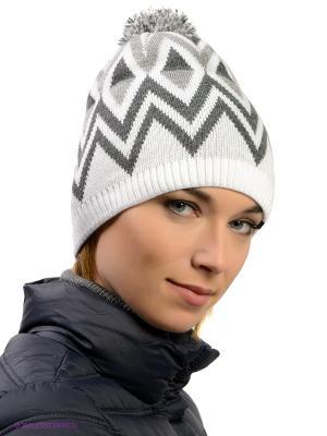Шапка Ensis. Цвет: белый, серый