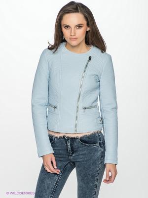 Куртка Vila. Цвет: голубой