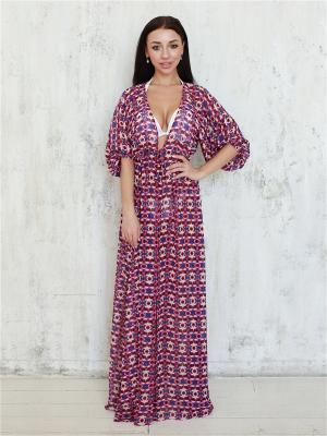Платье пляжное  (принт) Firma
