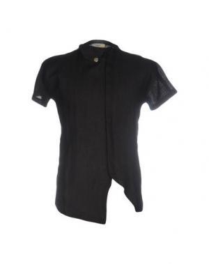 Pубашка MANOSTORTI. Цвет: черный