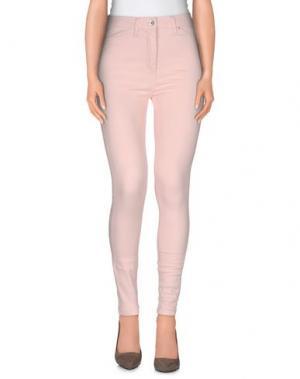 Повседневные брюки MbyMAIOCCI. Цвет: розовый