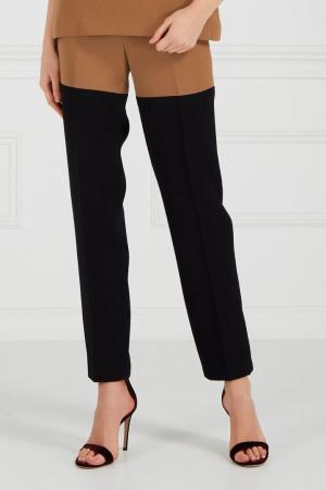 Комбинированные брюки Chapurin. Цвет: multicolor