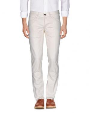 Повседневные брюки NINE:INTHE:MORNING. Цвет: слоновая кость