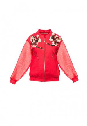 Куртка Yukostyle. Цвет: красный