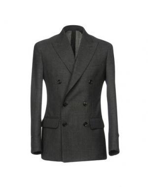 Пиджак UMIT BENAN. Цвет: стальной серый