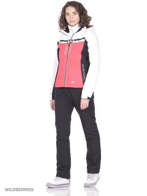 Куртка горнолыжная Trespass. Цвет: розовый
