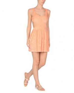 Пляжное платье MISS BIKINI. Цвет: лососево-розовый