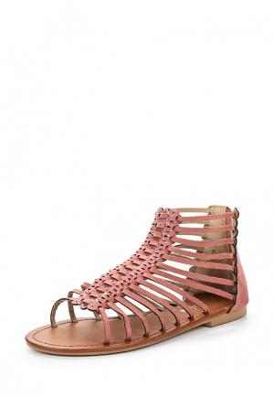 Сандалии Style Shoes. Цвет: розовый