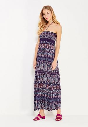Платье пляжное womensecret women'secret. Цвет: фиолетовый