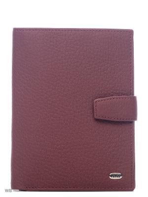 Обложка на автодокументы и паспорт Petek. Цвет: бордовый, темно-серый