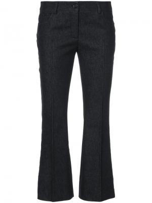 Укороченные брюки Manou Akris Punto. Цвет: чёрный