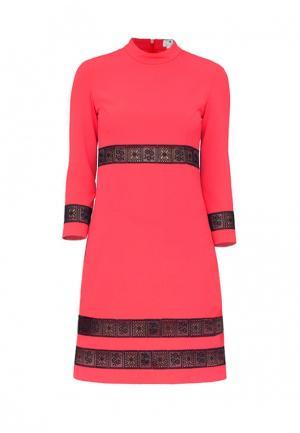 Платье Bergamoda. Цвет: коралловый