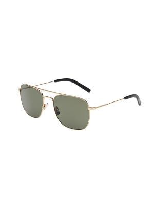 Солнцезащитные очки Saint Laurent. Цвет: золотистый