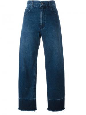 Широкие джинсы Legion Rachel Comey. Цвет: синий