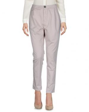 Повседневные брюки E_GO' SONIA DE NISCO. Цвет: песочный
