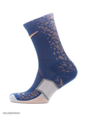 Носки NIKE MATCHFIT ELT HYPERVENOM. Цвет: синий, серый, оранжевый