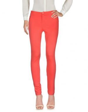 Повседневные брюки TROU AUX BICHES. Цвет: коралловый