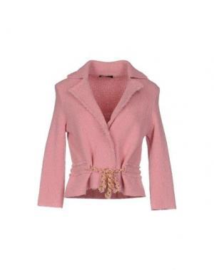 Пиджак ANNECLAIRE. Цвет: розовый