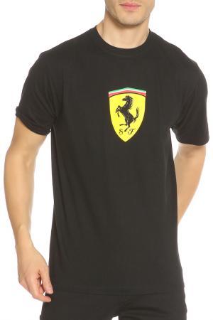 Футболка Ferrari. Цвет: черный