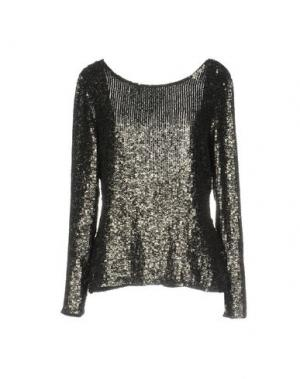 Блузка LA KORE. Цвет: черный