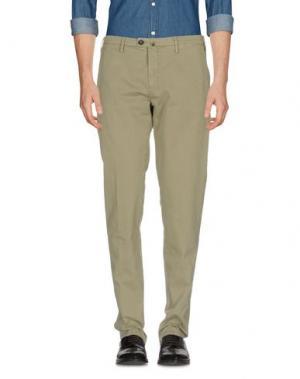 Повседневные брюки NEW ENGLAND. Цвет: зеленый-милитари
