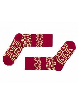 Носки Sammy Icon. Цвет: бордовый, желтый