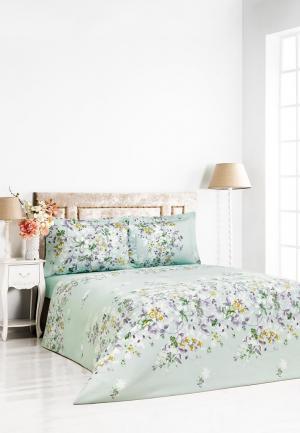 Комплект постельного белья Classic by T. Цвет: бирюзовый