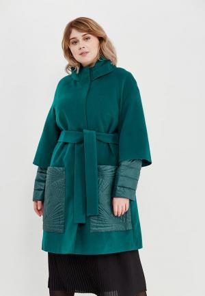 Пальто Grand Madam. Цвет: зеленый