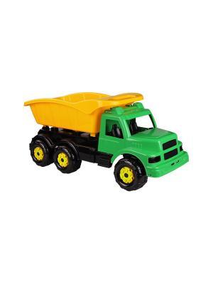 Машинка Самосвал (Зелёный) Альтернатива. Цвет: черный, желтый, зеленый