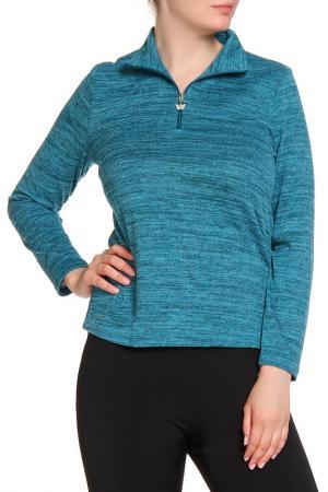 Пуловер HELENA VERA. Цвет: голубой
