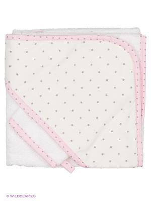 Уголок банный для грудничков Arya Rabitto. Цвет: бледно-розовый