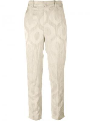Жаккардовые брюки Syd Isabel Marant. Цвет: телесный