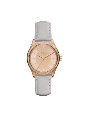 Часы Armani Exchange. Цвет: серебристый,розовый,золотистый
