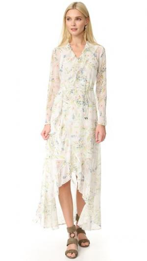 Длинное платье-халат New Romantic Ministry of Style. Цвет: растительный принт