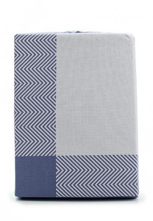 Комплект постельного белья 2-спальный Хлопковый Край. Цвет: серый