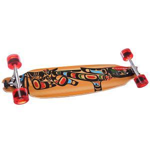 Скейт круизер  Wing D.t. 84 Diamond Complete Totem Multicolor 8.25 x 33.25 (84 см) Pumpkin. Цвет: мультиколор