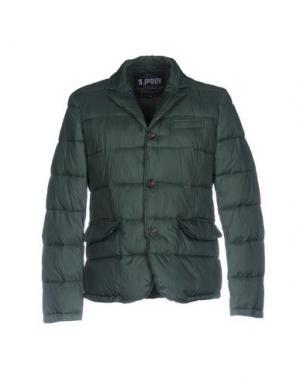 Куртка JAGGY. Цвет: темно-зеленый